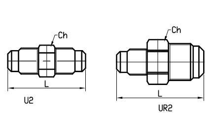 Raccordi SAE in ottone per refrigerazione e condizionamento
